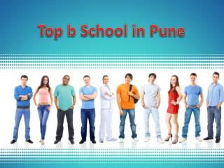 Top b schools in pune