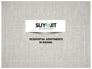 Residential Apartments in Nashik.