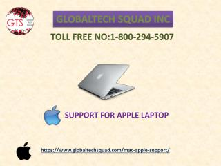 Mac Laptop Support Number Toll Free: 1-800-294-5907