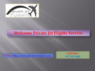 Book Private Jet For Emergency : Private Jet Flights