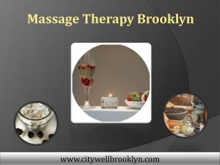 Massage Therapy Brooklyn