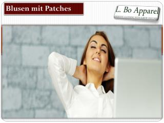 Blusen mit Patches