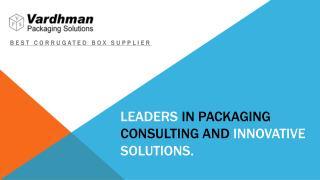 Corrugated Box Supplier