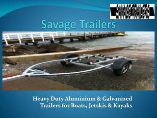 Trailer Parts - Savage Trailers