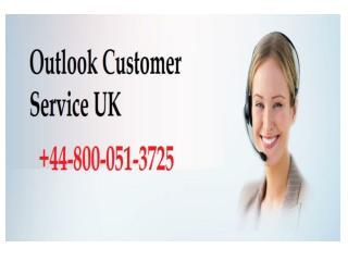 Outlook Customer Care Helpline Number
