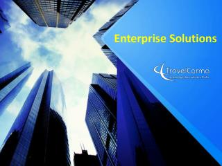 TravelCarma Enterprise Solutions