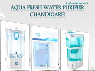Aqua fresh water purifier Chandigarh