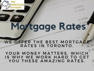 Best & Lowest Mortgage Rates Mississauga | The Mortgage Division