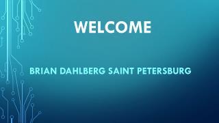 Brian Dahlberg Saint Petersburg