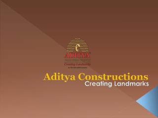 3 BHK Apartments, Flats For Sale In Aditya Beaumont By Aditya Constructions Hyderabad