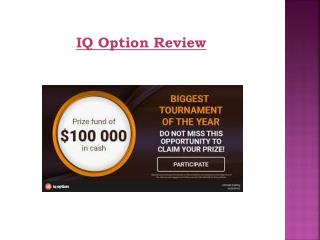 IQ Option Review | Use their own trading platform | Free Demo
