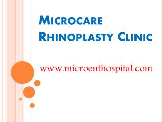 Rhinoplasty in Hyderabad | Rhinoplasty Centre in Hyderabad