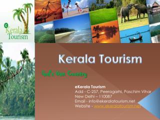 Promoting Kerala Tourism