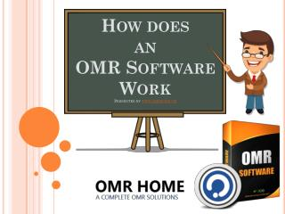 How Does an OMR Software Work?