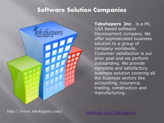 Software Solution Companies | software solution company