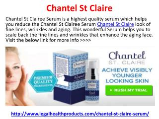 Chantel St Claire Reviews, Price and Free Trial