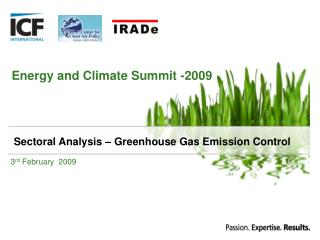 Energy and Climate Summit -2009
