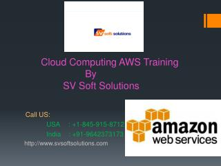 AWS Online Training in USA, UK, Canada and India