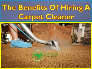 Best Advantages Of Hiring A Carpet Cleaner in Sydney