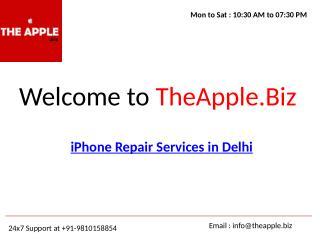 iphone repair services in delhi - theapple.biz