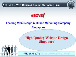 Singapore's Excited Offers On Website Design & Development Services