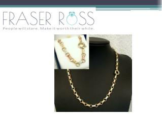 Stylish Gold Necklaces for Sale
