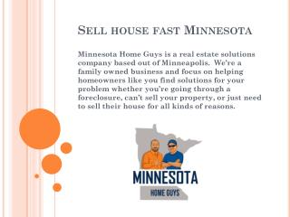 Sell House Fast St. Paul