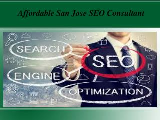 Affordable San Jose SEO Consultant