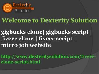 gigbucks clone| gigbucks script | fiverr clone | fiverr script | micro job website