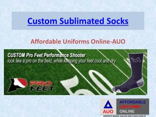 Custom Sublimated Socks