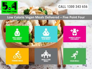 Low Calorie Vegan Meals Delivered - Five Point Four