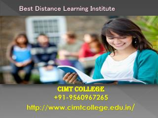 Distance Learning Courses Noida, Engineering Courses Noida, Best Distance Learning Institute