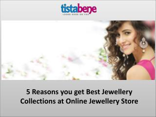 Best Jewellery Collections at Online Jewellery Store