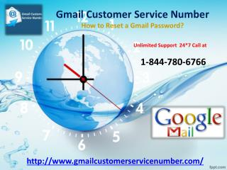 How to Reset Password in Gmail Account? 1-844-780-6766