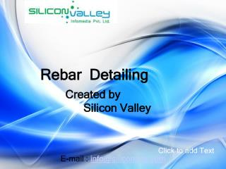 Rebar Detailing Shop Drawing Services - SiliconInfo
