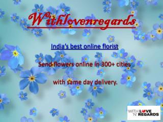 bouquet online withlovenregards