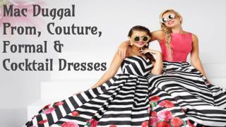 Mac Duggal Cocktail Dresses For Sale- Couture Candy
