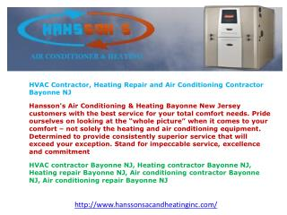 Ultimate in Cooling & Heating
