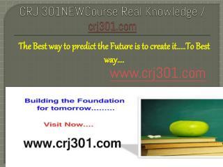 CRJ 301NEWCourse Real Knowledge / crj301.com