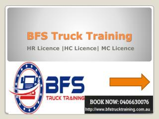 First Choice for Truck Licence Course in Sydney