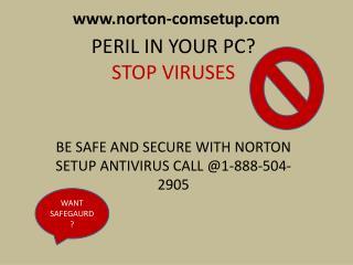 Enjoy a virus free computer world with Norton.com/setup call @1-888-504-2905