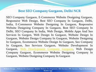 Mobile Website Development Company in Gurgan