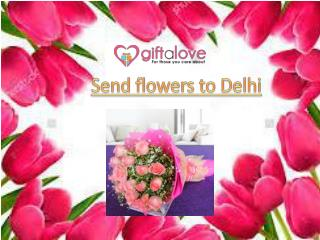 Send Flowers to Delhi Online | Flowers to India
