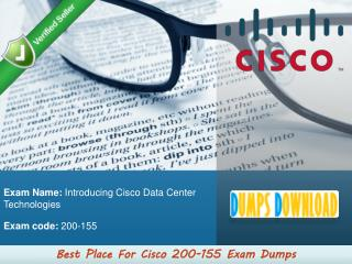 200-155 Dumps PDF | 100% Pass Guarantee on 200-155 Exam