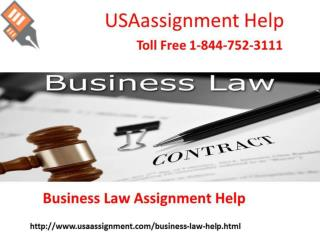 Business Law solution Help Toll Free: 1-844-752-3111