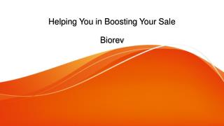 Helping You in Boosting Your Sale