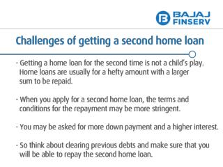 Challenges of Getting a Loan for a Second Home