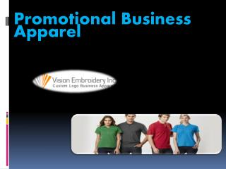 Promotional Business Apparel