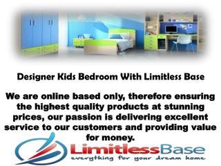 Uncommon Kids Bedroom Sets in UK by Limitless Base