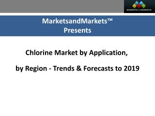 Impact of Global Chlorine Market Opportunity (2014-2019)